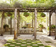 Define multiple zones in your backyard through different flooring treatments: http://www.bhg.com/home-improvement/porch/outdoor-rooms/backyard-ideas/?socsrc=bhgpin042614definezones&page=8