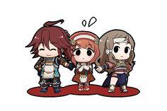 Fire Emblem: If/Fates - Tsubaki, Sakura and Kazahana