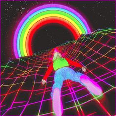 The perfect Trippy Psychedelic Rainbow Animated GIF for your conversation. Discover and Share the best GIFs on Tenor. Aesthetic Gif, Retro Aesthetic, Aesthetic Wallpapers, Aesthetic Grunge, Trippy Gif, Trippy Wallpaper, Pink Wallpaper, Psychedelic Art, Arte Dope