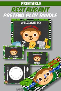 I love this Restaurant pretend play bundle for kids! Lunch Box Notes, Educational Activities For Kids, Gross Motor Skills, Ocean Themes, Dramatic Play, Emotional Intelligence, Growth Mindset, Pretend Play, Critical Thinking