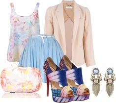 """""""Spring"""" by sophia-rech ❤ liked on Polyvore"""