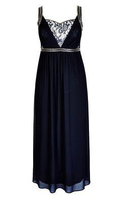 8d96d803be1 City Chic Lace Trimmed Love Maxi Dress - Women s Plus Size Fashion City Chic  - City