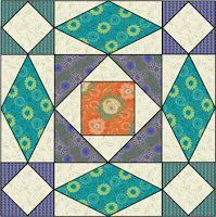 Storm-at-Sea Quilts, free block diagrams and patterns. Notice how, for all that curvy motion, there are ONLY STRAIGHT SEAMS.