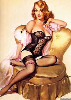 my other strange obsession-- pin up girls... It's the epitome of classic sexiness.