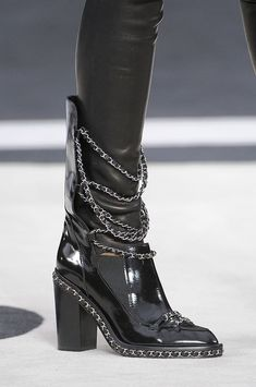 Chanel Fall 2013 Chain Boots