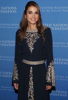 La soberana, reina de la elegancia en todo el planeta, vuelve a sus raíces en la gala de la Fundación de Liderazgo Global de las Naciones Unidas