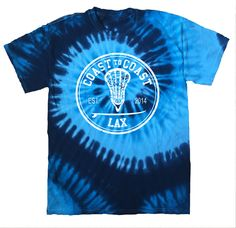 Tie Dyed Tee - Coast to Coast Lax Clothing Co Lacrosse Quotes, Lacrosse Gear, Girls Lacrosse, Softball Problems, Soccer Memes, Sports Day, Tie Dye Shirts, Sporty Outfits, Clothing Co