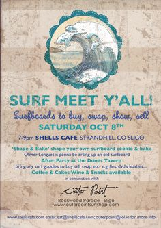 cool surf event we did in Shells.thinking of another one The Dunes, Surfboard, Shells, Surfing, Bring It On, Events, Cool Stuff, Conch Shells, Seashells