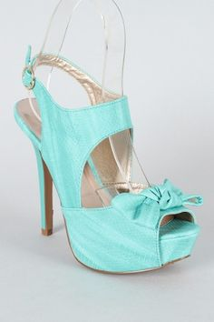Ahh! These are so cute! $29.90  http://urbanog.com/Qupid-Glitter-115-Snake-Bow-Cut-Out-Platform-Sandal_114_18697.html