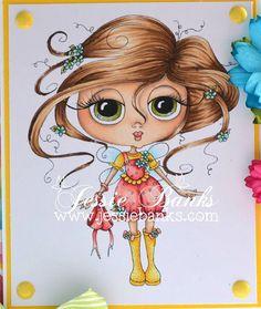 INSTANT DOWNLOAD Digital Digi Stamps Big Eye Big Head Dolls NEW Sweet Treats Besties img646 My Besties By Sherri Baldy