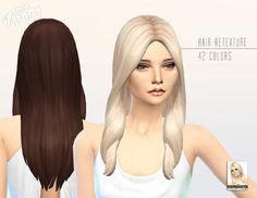 Miss Paraply: Kiara 24 Oblivion hairstyle retextured  - Sims 4 Hairs - http://sims4hairs.com/miss-paraply-kiara-24-oblivion-hairstyle-retextured/