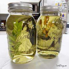 Die alte Omas werden so froh sein, wenn sie solch ein Geschenk bekommen - Mason Jar Fotorahmen