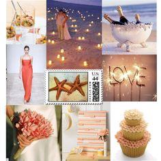 dream beach wedding inspiration.  Although....I already had my dream beach wedding :)