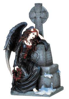 Dark Fantasy Art Product   Details about GOTHIC DARK ANGEL GRAVEYARD STATUE Fantasy Art Figure B