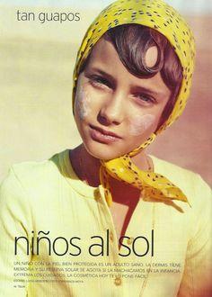 Kids Fashion - Telva Niños Magazine. May 2013 - Photo: Esperanza Moya Sugar Kids Agency. Model - Julia Mayer