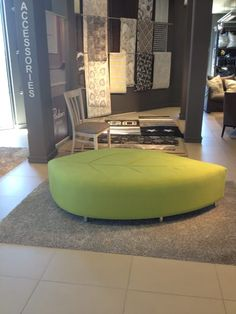 The Leaf Ottoman is a simple seating design for any office or retail environment. Unique way to bring nature indoors. Creation Homes, Home Comforts, Ottomans, Environment, Indoor, Retail, Fresh, Simple, Unique