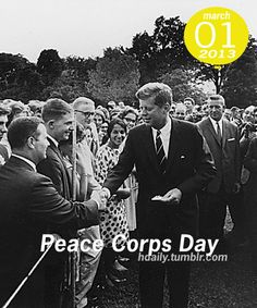 Peace Corps Day! Peace Corps, John Kennedy, Essay Examples, My Generation, World Peace, My Goals, Jfk, Cute Quotes, Sample Resume