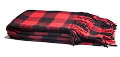 Faribault Virgin Wool Buffalo Check Blanket - Kaufmann Mercantile