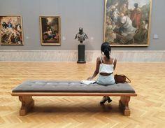 """joli–coeur:  """"my day at the art museum  Instagram: kokokourtney  """""""