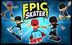 Best Games Apps For Android Mobile: Android Game Epic Skater v1.44 Apk