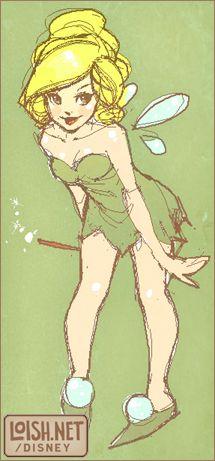 Tinkerbell, Peter Pan, Disney Princess, Disney Fan Art