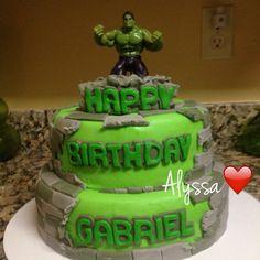 Hulk cake!!