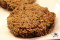 Loaded Quinoa Veggie Burgers