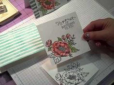 "The Happy Stamper :): Episode #490 ~ ""Birthday Blooms"" Card By Stampin' Up!"