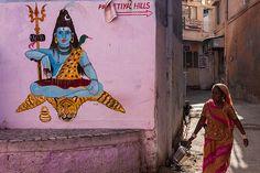 Un mundo por descubrir: Shiva, Jodhpur. India.