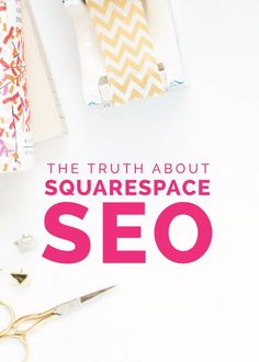 The Truth About Squarespace SEO - Elle & Company - refer here to add structure to Google search results