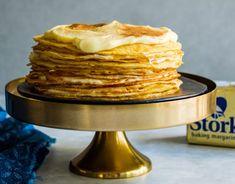 Milk Tart Pancake Cake