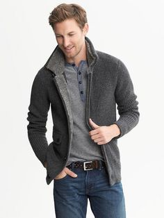 Sweaters like this from BR class up an outfit