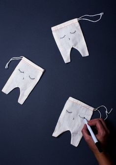DIY Tooth Fairy Pouches