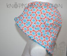 Schirmmützen - Sonnenhut aus Jersey - little sea star - ein Designerstück von knoepfchenundanton bei DaWanda