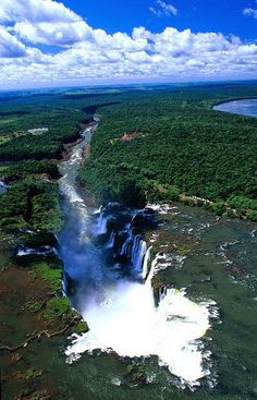 Iguazu Falls, Argentina-Brasil   - Explore the World with Travel Nerd Nici, one Country at a Time. http://TravelNerdNici.com