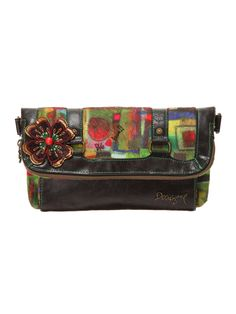 Desigual Desigual BOLS_ARTISTIC 13AW Must Haves, Suitcase, How To Wear, Bags, Clothes, Accessories, Shoes, Fashion, Coin Purses