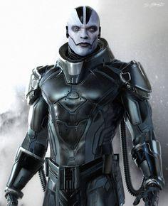 'X-Men: Apocalypse' Concept Art Reveals a Darker More Brooding Villain : Hombres Mag For Men | MoreSmile