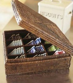 DIY Tea Storage Box I Have So Many Kinds Of Teas And Tea Boxes That This  Would Definately Simplify Things | Be Crafty | Pinterest | Tea Storage, ...