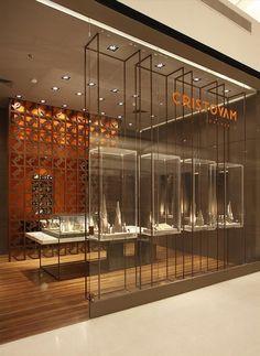 new Ideas for jewerly store interior jewelery Jewelry Store Displays, Jewellery Shop Design, Jewellery Showroom, Jewelry Display Stands, Jewelry Stand, Jewellery Display, Jewelry Shop, Jewelry Stores, Jewelry Kits