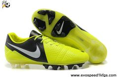 Buy Latest Listing Nike CTR360 Maestri III FG FG Volt Black White Soccer Shoes Shop