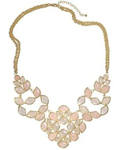 Tonight ONLY! Until midnight CST, take 15% off our statement jewels with code MAKEASTMT. Grayce Statement Necklace in Petal - Kendra Scott Jewelry.