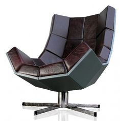 01 Villain Chair from Suck UK Back to Work: 10 Modern Desk Chairs