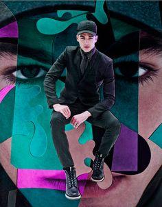 Rodolphe Zanforlini for Vogue Hommes Japan