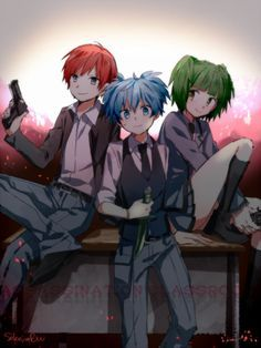 Ansatsu Kyoushitsu (Assassin Classroom) one of the best anime so have seen so…