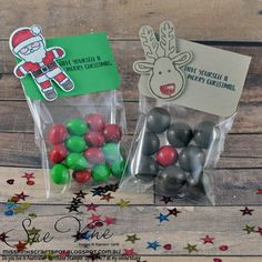 Miss Pinks Craft Spot: Cookie Cutter Christmas Treat Bags | #GDP051
