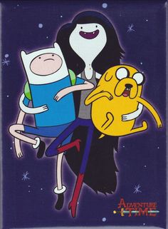 Marceline to the Rescue Magnet