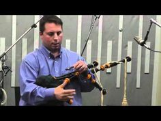 Bagpiper Brandon Hughes explains how bagpipes are tuned and talks about modern vs. traditional reeds. He demonstrates how reeds sound by themselves in contrast to how they sound in the drones. Time: 9:24.    This is one of a series of videos offering a behind-the-scenes look at the October 2011 recording session with The 42nd Royal Highlanders. ...