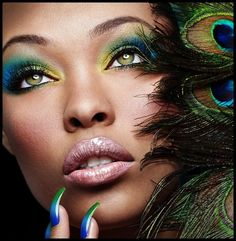 kostüm und make up sollten zueinander passen nagel lack