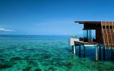 clearoceanwater | maldives aqua villa ocean crystal clear water landscape tourism ...