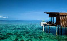 clearoceanwater | maldives aqua villa ocean crystal clear water landscape tourism ...